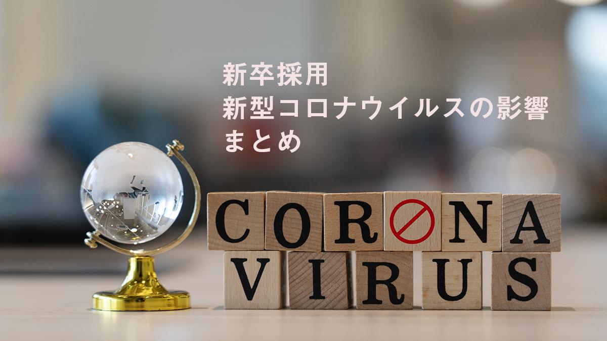 *速報*新型コロナウイルスに対しての各社採用の動き